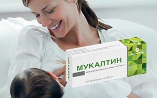 Можно ли принимать Мукалтин при грудном вскармливании