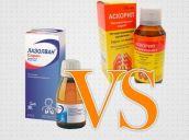 Что лучше использовать при кашле Аскорил или Лазолван