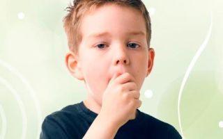 Сухой кашель у ребенка — правильный подход к лечению