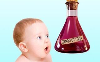 Сироп при кашле у детей — подбираем с умом
