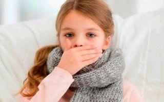 У ребенка долго не проходит кашель: причины и способы лечения