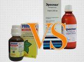 Проспан или Эреспал, что лучше и эффективней при кашле и в чем разница