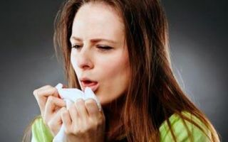 Кашель во время пневмонии, его особенности и лечение