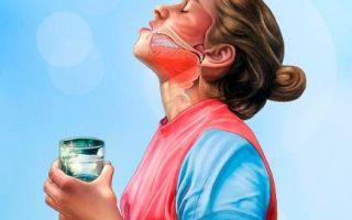 Чем и как полоскать горло при кашле?