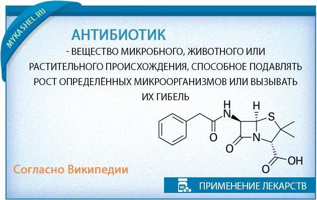 антибиотик против кашля