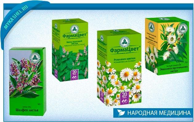 Травы для ингаляций от кашля
