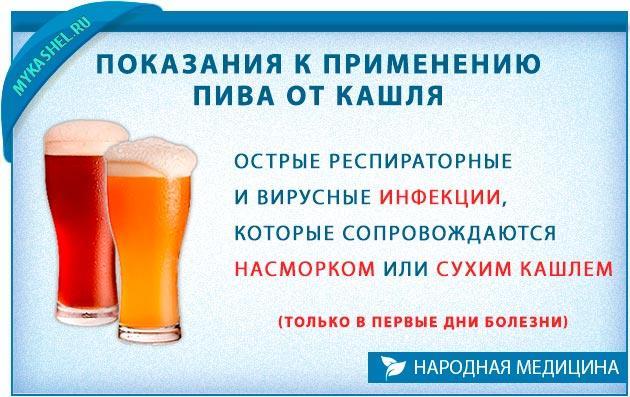 Показания для употребления горячего и теплого пива