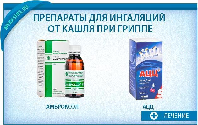 Препараты для ингаляций при гриппе