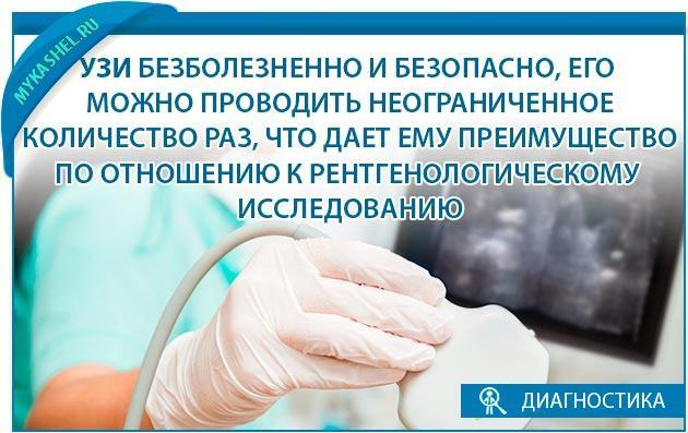 Узи плевральной безболезненно и безопасно