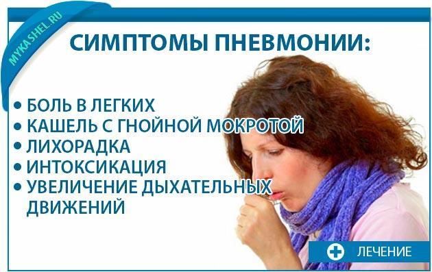 Симптомы пневмонии они серьезны