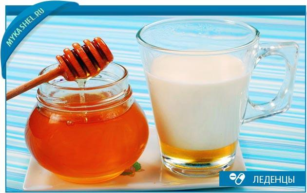 молоко мед и масло