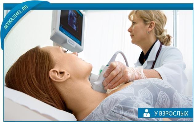 определяем кашель даже если он при щитовидке