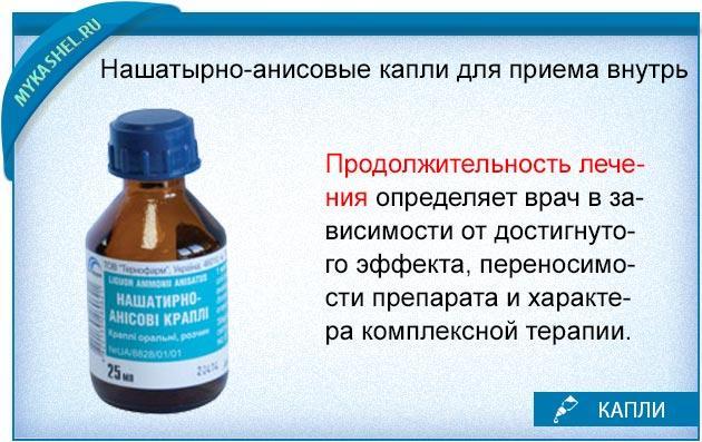 анисовые капли от кашля инструкция взрослый